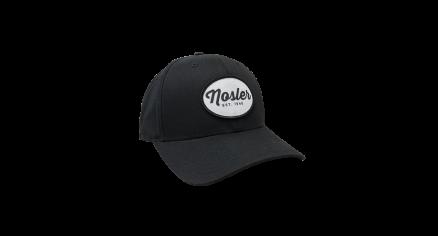 Black Flex Fit Patch Hat