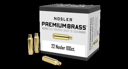 22 Nosler Premium Brass (100ct)
