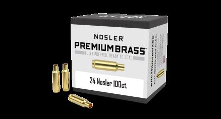 24 Nosler Premium Brass (100ct)