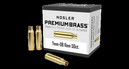 7mm-08 Rem Premium Brass (50ct)