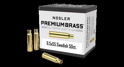 6.5x55 Swed Mauser Premium Brass (50ct)