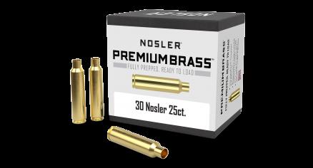 30 Nosler Premium Brass (25ct)