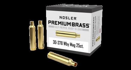 30-378 WBY Premium Brass (25ct)