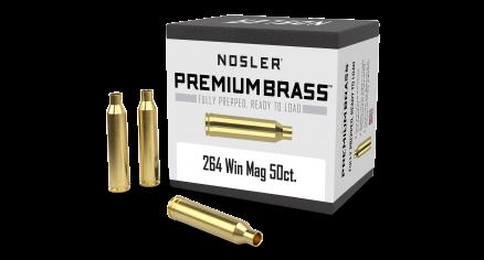 264 Win Mag Premium Brass (50ct)