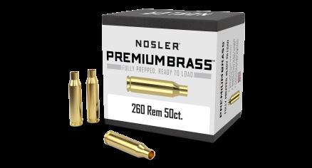 260 Rem Premium Brass (50ct)