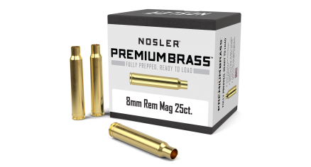 8mm Rem Mag Premium Brass (25ct)