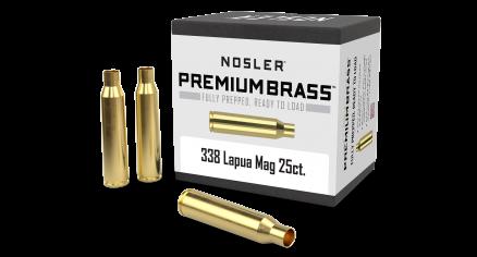 338 Lapua Premium Brass (25ct)
