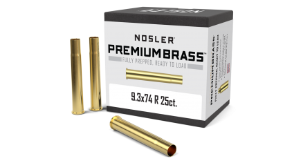 9.3x74 R Premium Brass (25ct)