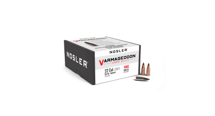 22 Caliber 55gr FB Tipped Varmageddon (500ct)