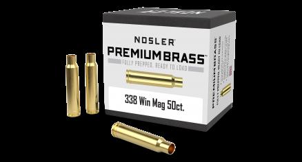 338 Win Mag Premium Brass (50ct)
