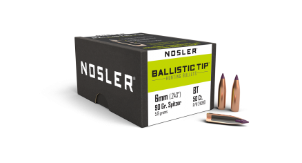 6mm 90gr Ballistic Tip Hunting (50ct)
