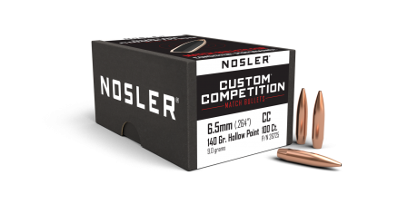 6.5mm 140gr HPBT Custom Competition (100ct)