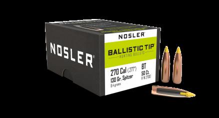 270 Caliber 130gr Ballistic Tip Hunting (50ct)