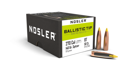 270 Caliber 140gr Ballistic Tip Hunting (50ct)