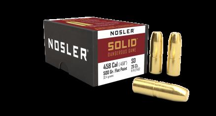 458 Caliber 500gr Solid (25ct)