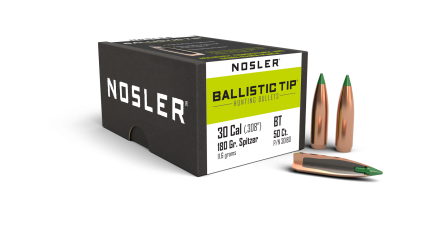 30 Caliber 180gr Ballistic Tip Hunting (50ct)