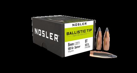 8mm 180gr Ballistic Tip Hunting (50ct)