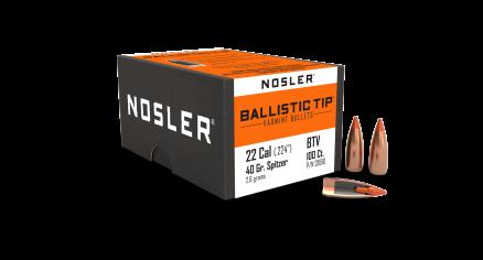 22 Caliber 40gr Ballistic Tip Varmint (100ct)