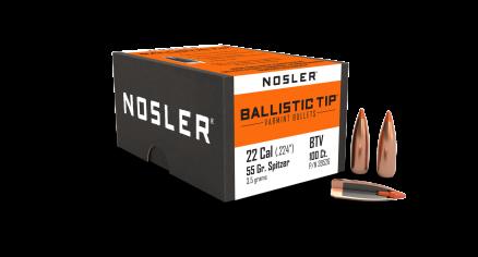 22 Caliber 55gr Ballistic Tip Varmint (100ct)
