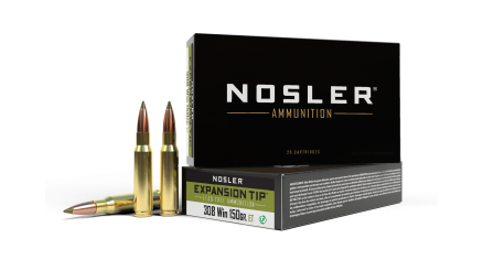 308 Winchester 150gr Expansion Tip Ammunition