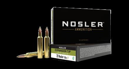 28 Nosler 150gr Expansion Tip Ammunition