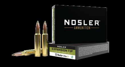 33 Nosler 225gr Expansion Tip Ammunition