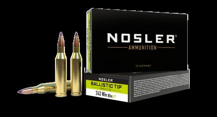 243 Winchester 90gr Ballistic Tip Hunting Ammunition