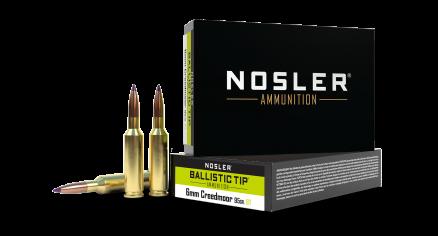 6mm Creedmoor 95gr Ballistic Tip Hunting Ammunition