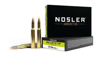 270 Winchester 140gr Ballistic Tip Hunting Ammunition