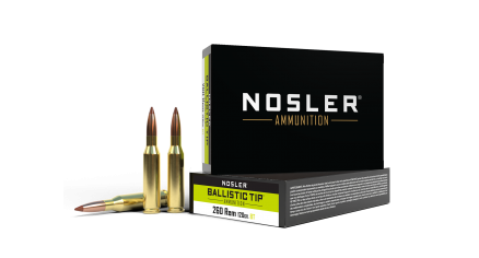 260 Rem 120gr Ballistic Tip Hunting Ammunition