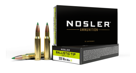 308 Winchester 165gr Ballistic Tip Hunting Ammunition