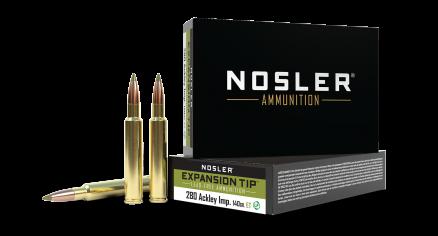 280 Ackley Improved 140gr Expansion Tip Ammunition