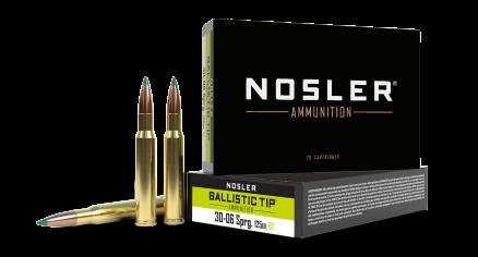 30-06 Springfield 125gr Ballistic Tip Hunting Ammunition
