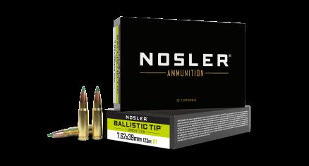7.62x39 123gr Ballistic Tip Hunting Ammunition