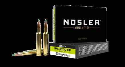 30-06 Springfield 180gr Ballistic Tip Hunting Ammunition