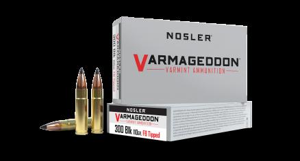 300 AAC Blackout 110gr FB Tipped Varmageddon Ammunition