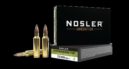 270 WSM 130gr Expansion Tip Ammunition