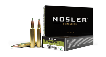 223 Remington 55gr Expansion Tip Ammunition