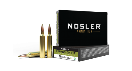 26 Nosler 120gr Expansion Tip Ammunition