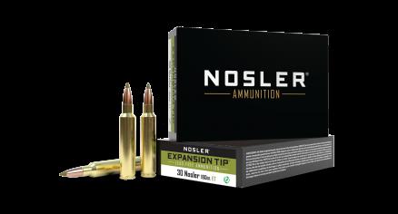30 Nosler 180gr Expansion Tip Ammunition