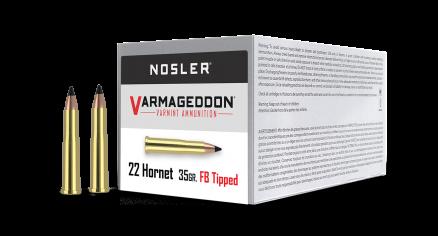 22 Hornet 35gr Tipped Varmageddon Ammunition