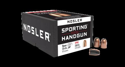 9mm 124gr JHP Sporting Handgun (250ct)