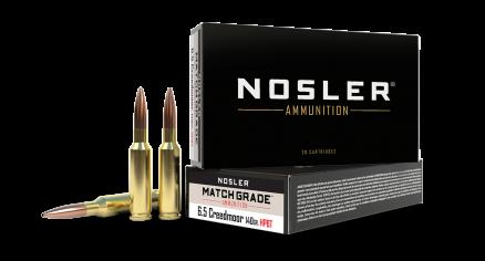 6.5 Creedmoor 140gr HPBT Custom Competition Match Grade Ammunition