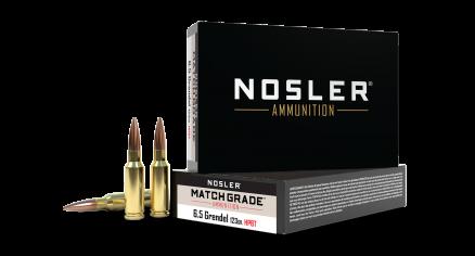 6.5mm Grendel 123gr HPBT Custom Competition Match Grade Ammunition