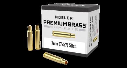 7x57 Mauser Premium Brass (50ct)