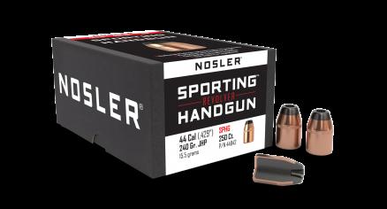 44 Caliber 240gr JHP Sporting Handgun (250ct)