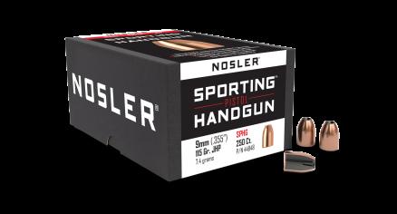 9mm 115gr JHP Sporting Handgun (250ct)