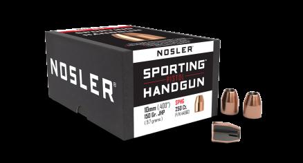 10mm 150gr JHP Sporting Handgun (250ct)