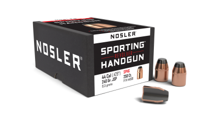 44 Caliber 240gr JSP Sporting Handgun (250ct)
