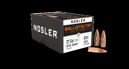 22 Caliber 40gr Ballistic Tip Lead Free (100ct)
